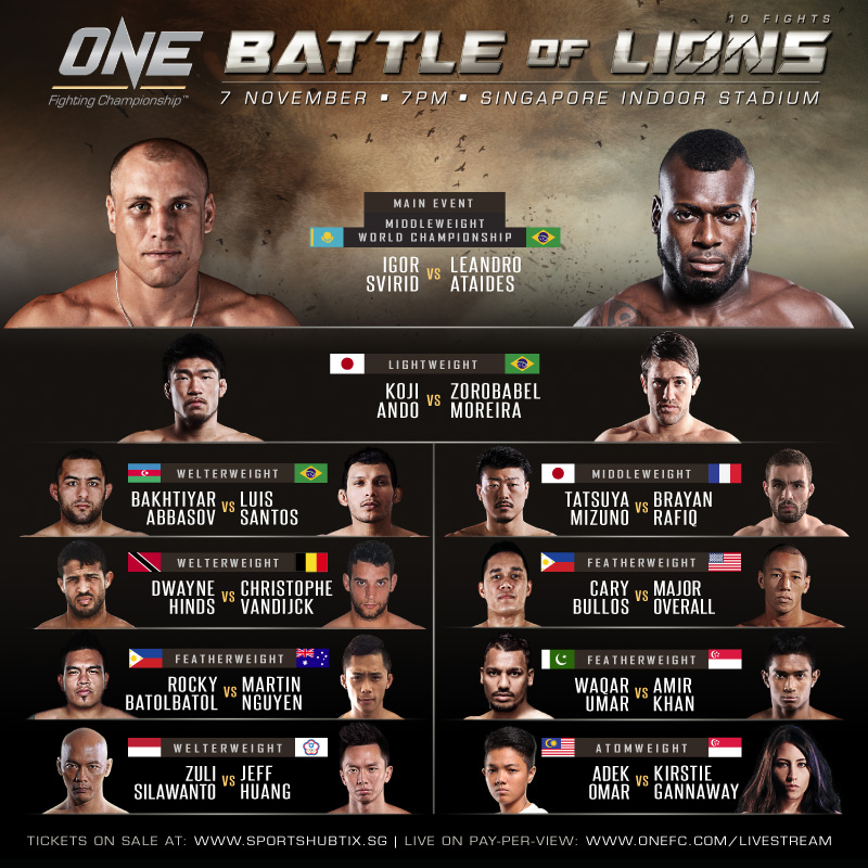 ONE FC: Battle of Lions