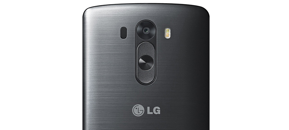 Innovation is the name of the game, and LG can give itself a pat on the back for the clever positioning of the power and volume buttons just below the camera lens