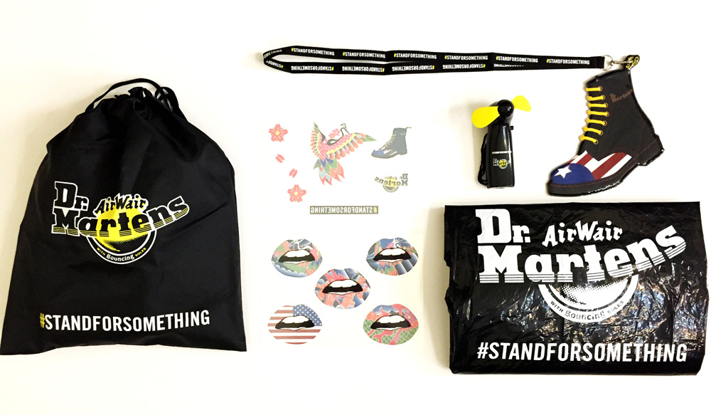 Dr Martens Festival Survival Kit