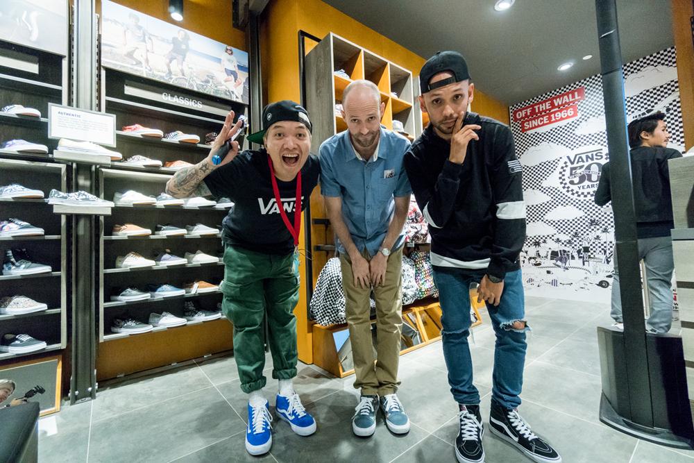 Vans Singapore Launch: Kevin Boy, Elijah Kislevitz, Kevin Lester