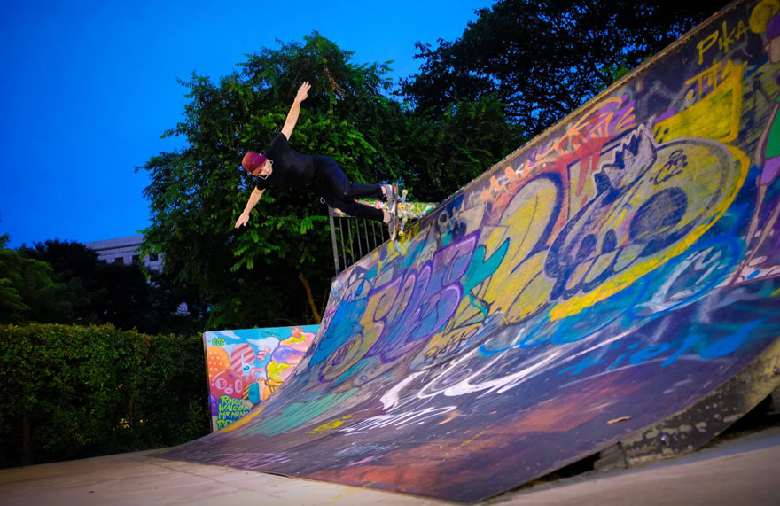 10 Questions with Manuel Camino, Creative Director and Avid Skater