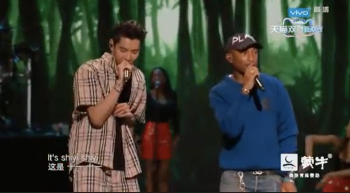 pharrell-sings-at-alibaba-singles-day-event-kris-wu