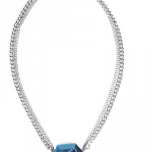 Cobalt-Angora-Necklace