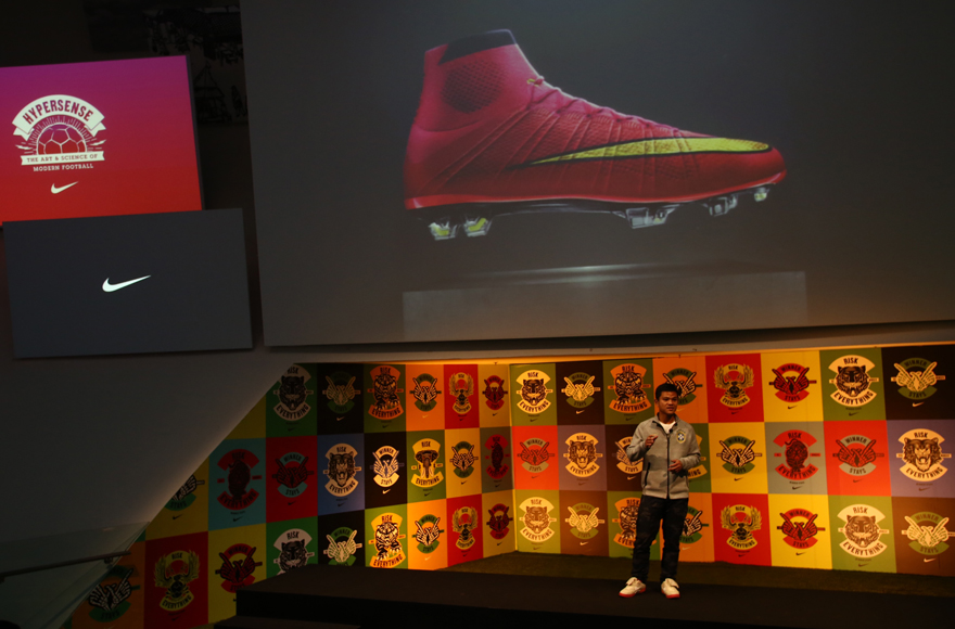 Aik Leong Lim introduces the new Mercurial Superfly_Nike the Art and Science of Modern Football_9 May 2014