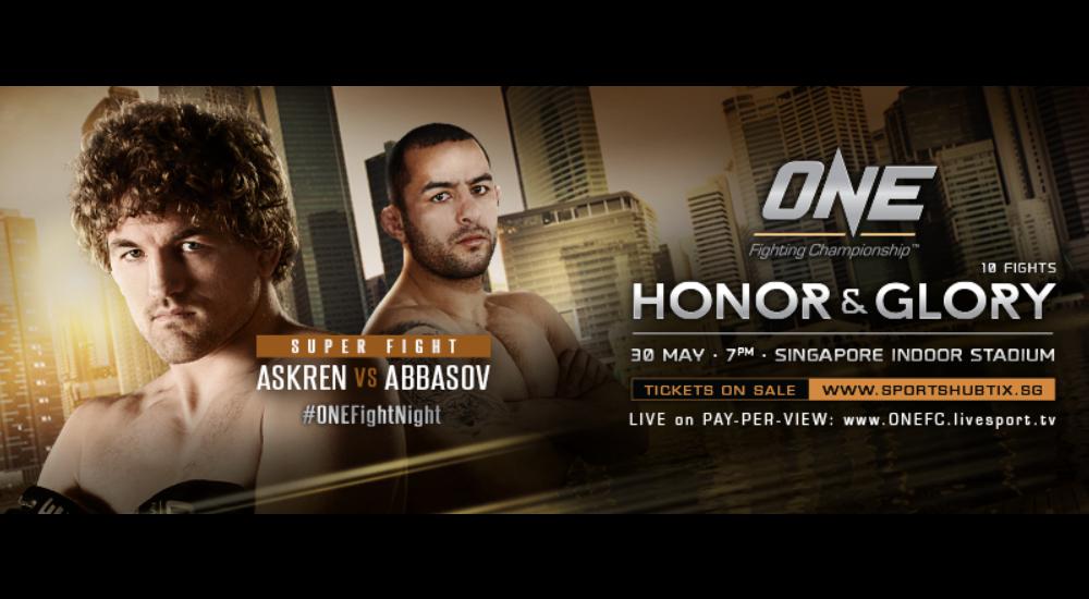 ONE FC: Honor & Glory