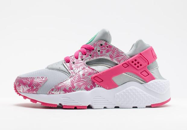 Nike-Air-Huarache-GS-Pink-Floral-1