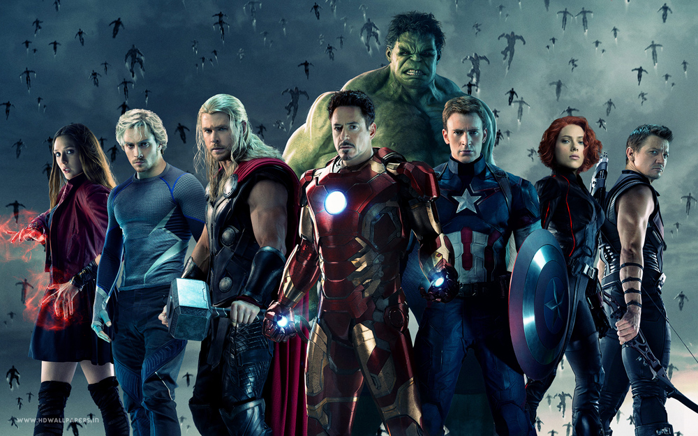 April 2015 Movies (Avengers: Age of Ultron)