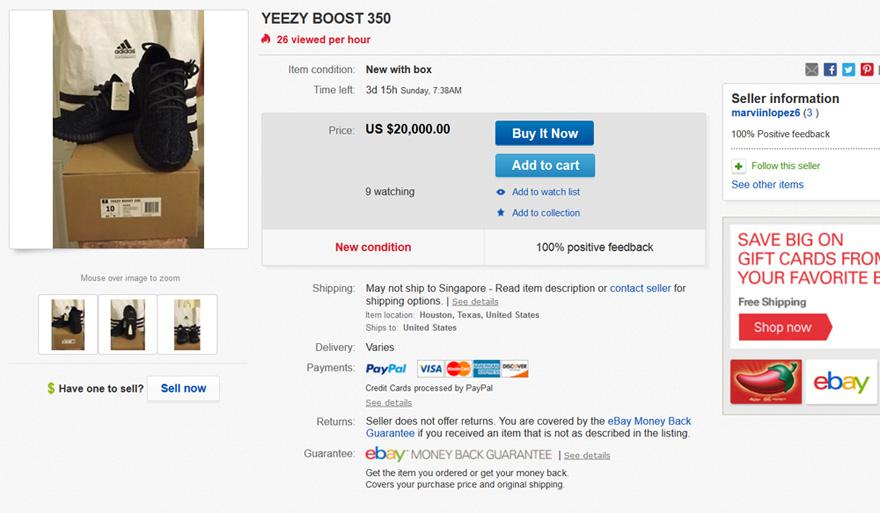 285d49c857072 ebay adidas yeezy boost ebay adidas yeezy boost ...