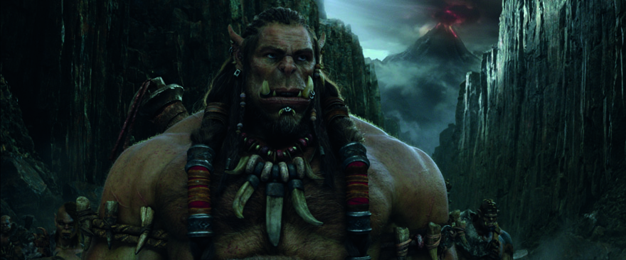 Humans & Orcs Battle It Out in Next Year's Warcraft Movie