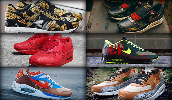Air Max Customs from Around the World Straatosphere