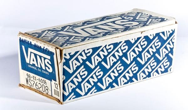 Vans 50th anniversary: Vintage Vans shoe box