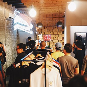 """Against Lab """"168"""" Pop-Up Shop at The Swagger Salong"""