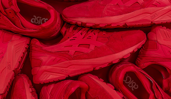 """Packer Shoes x ASICS Tiger GEL-KAYANO TRAINER """"Triple Red"""""""