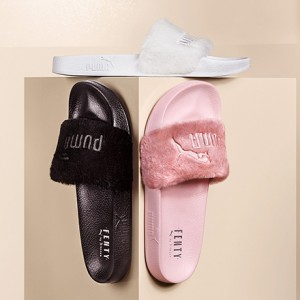 Object of Desire: Rihanna x PUMA Fur Slides by FENTY