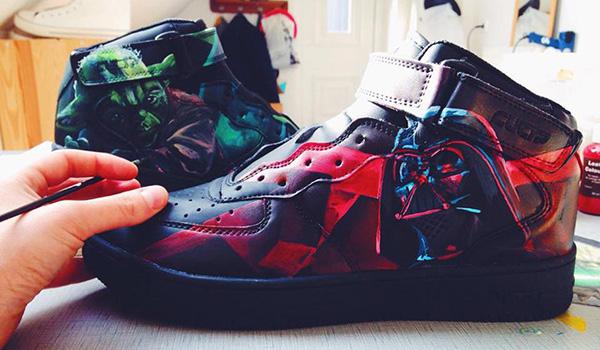 Custom Star Wars Sneakers