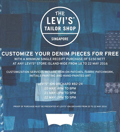 Levi's Tailor Shop is Letting You Customize Your Denim