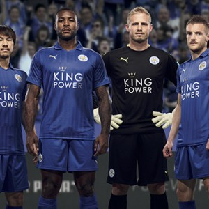 Leicester City 2016/17 Home Kit