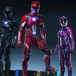 Power Rangers Movie Suits