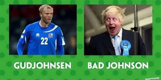 Gudjohnsen vs Bad Johnson - #ENGICE Memes