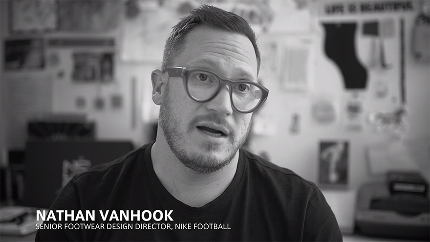 10 Questions with Nathan VanHook, Nike Football Senior Design Director
