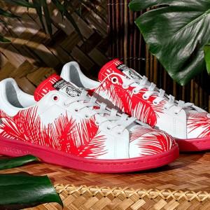 "Pharrell x BBC x adidas Originals Stan Smith ""Palm Tree"""