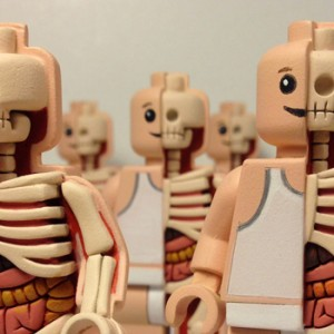 "Toy Designer Jason Freeny ""Dissects"" Iconic Characters For a Living"