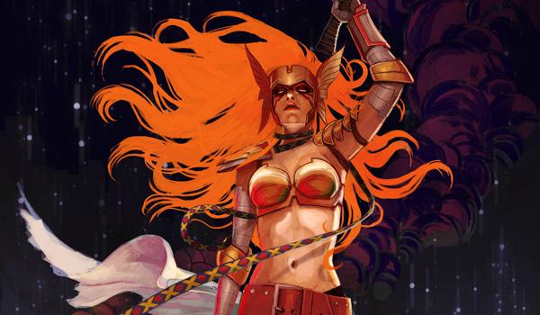 Stephanie Hans Creates Kick-Ass Covers for Comic Book Heroes