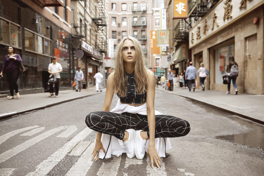 "Cara Delevingne Fronts PUMA's ""Do You"" Campaign"