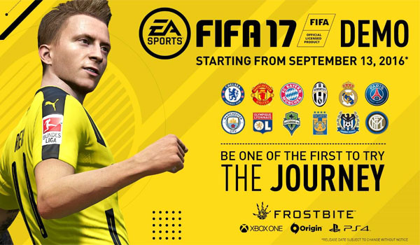 FIFA 17 Demo is Now Available for Download