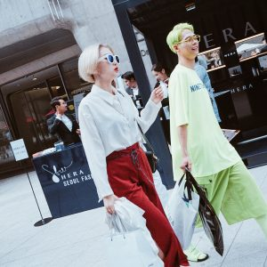 Seoul Fashion Week: Street Style, 17-21 October 2016