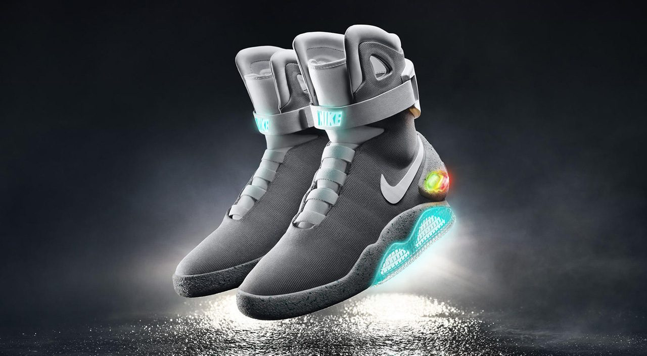 Nike Mag Up for Grabs, But First Make a Donation