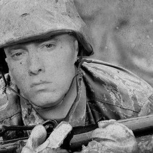 "Eminem debuts ""Campaign Speech"""