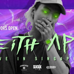 Keith Ape Comes to Singapore this November