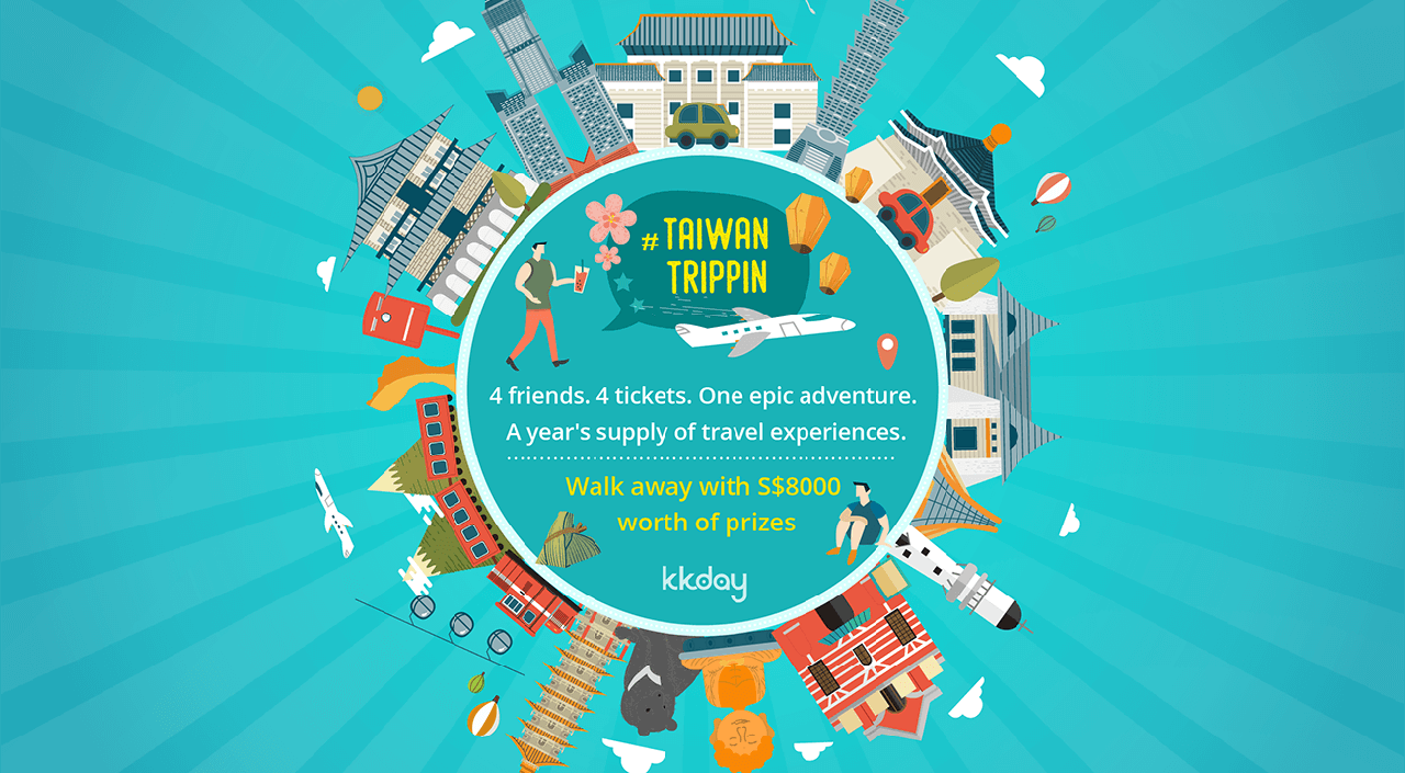 KKday Wants to Bring You #TaiwanTrippin