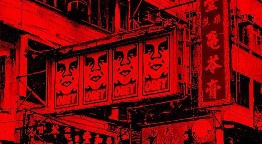 Shepard Fairey Holds First Solo Exhibition in Hong Kong