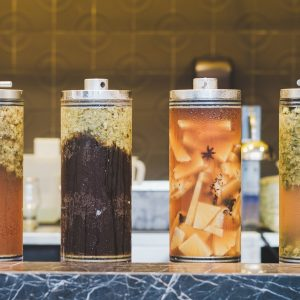 The Alchemist Lab in Singapore serves infusion beers and bites