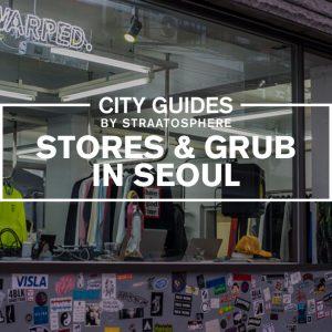 Seoul stores