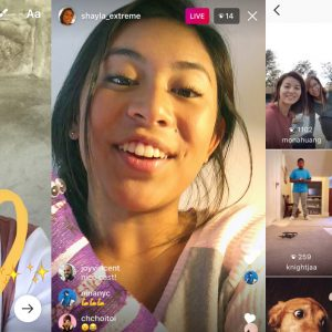 Instagram to introduce live video on their app soon and improvements to instagram direct to compete with snapchat
