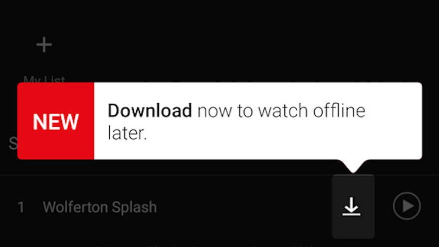 Netflix Launches Netflix Download For Offline Streaming