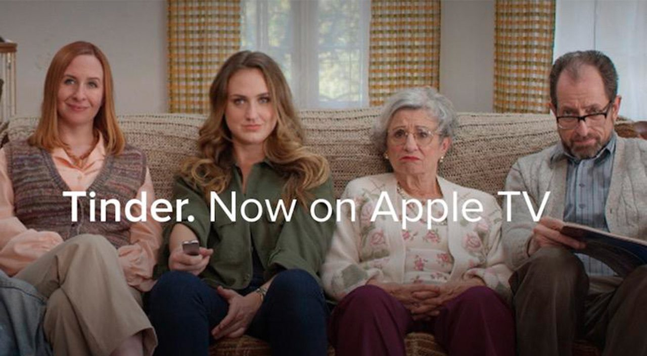Tinder on Apple TV Lets Friends and Family See You Swipe