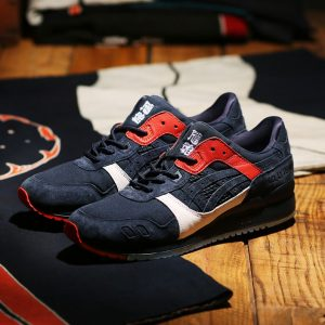 "Kicks Lab x ASICS Tiger GEL-LYTE III ""Hikeshi Hanten"""
