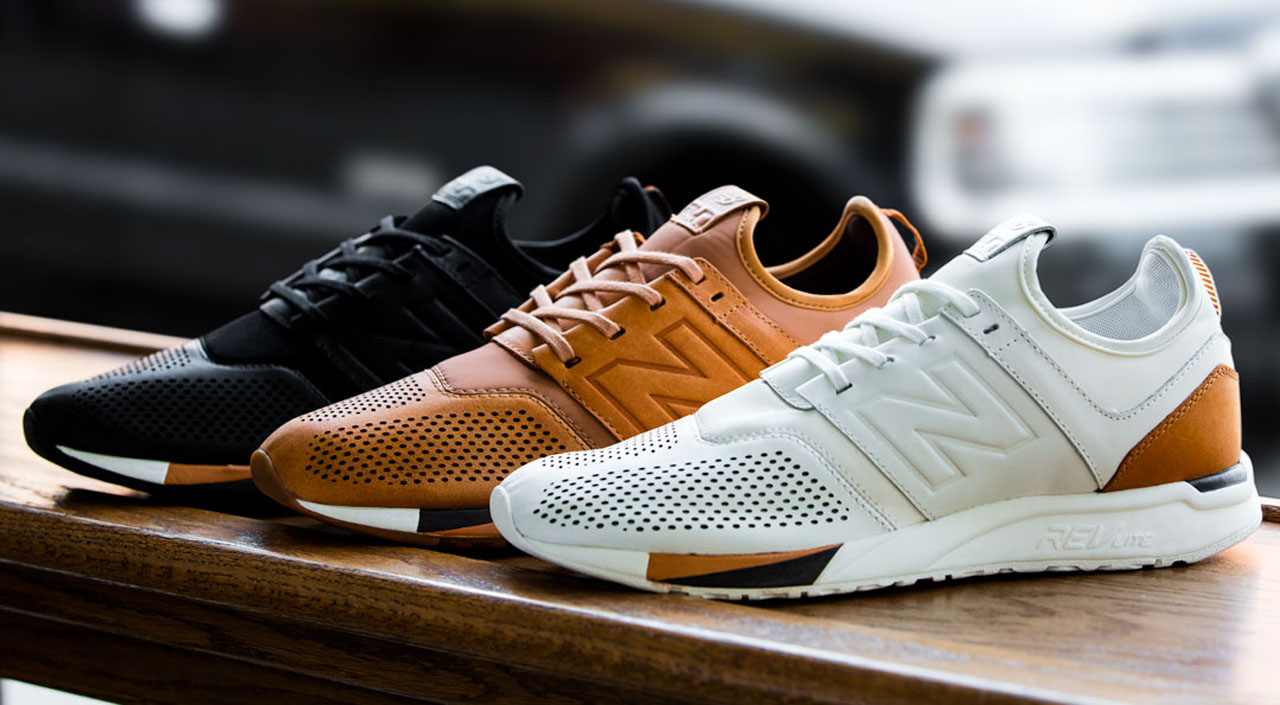 New Balance Debuts 247 Luxe Sneaker