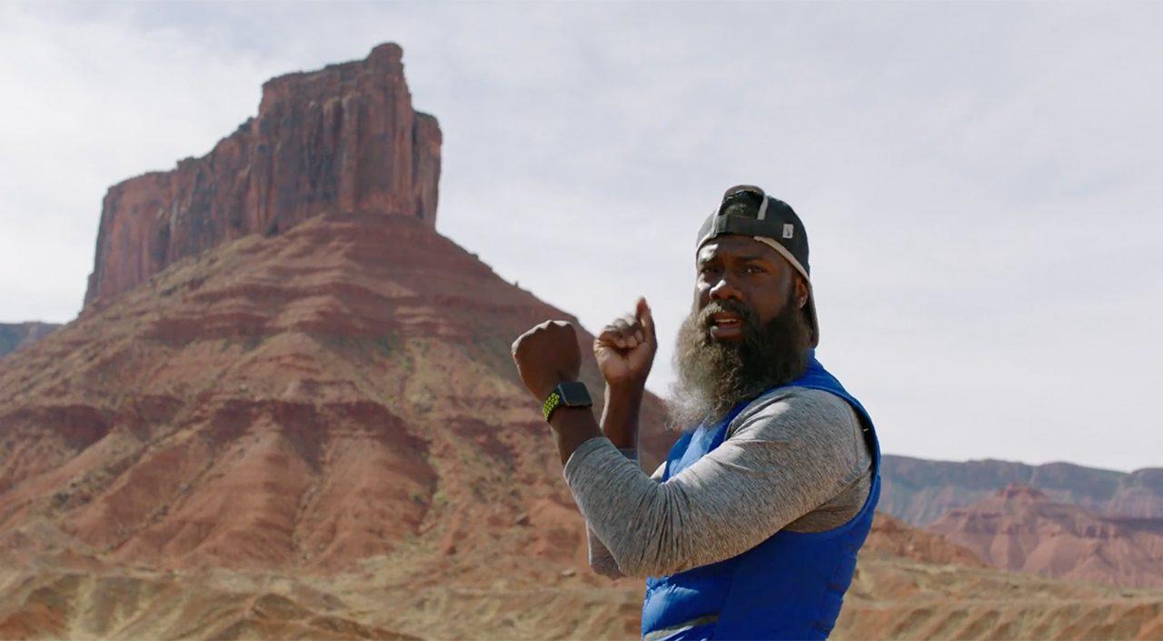Kevin Hart Nike+ Apple Watch