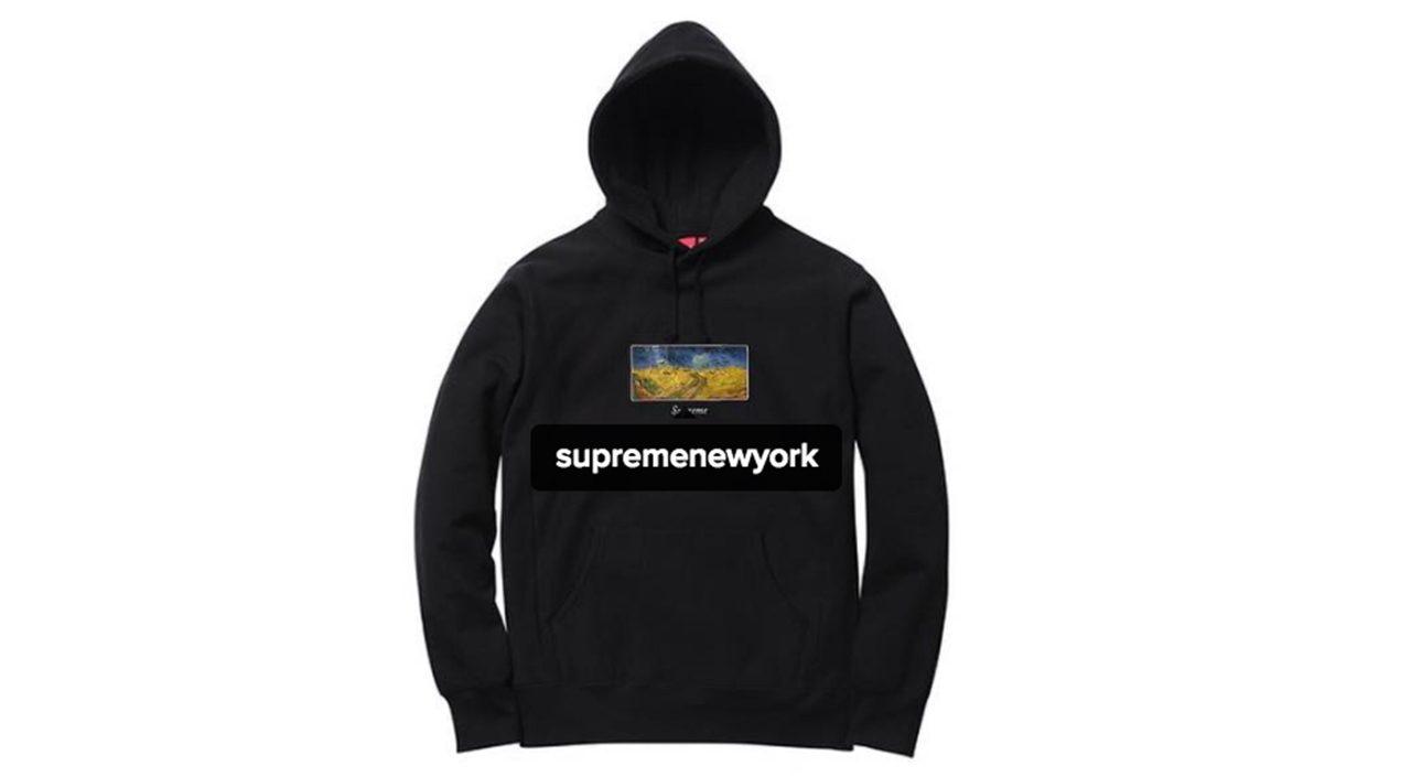 Supreme SS 2017 Van Gogh