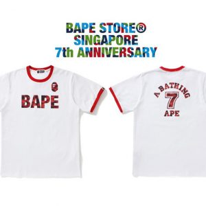 Bape Store Singapore 7th Anniversary Jersey Collection