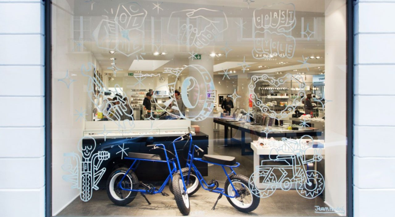 Coast Cycles teams up with Colette on the Buzzraw bicycle