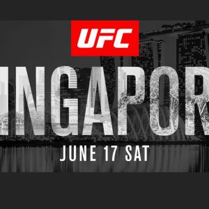 UFC comes to Singapore in June 2017