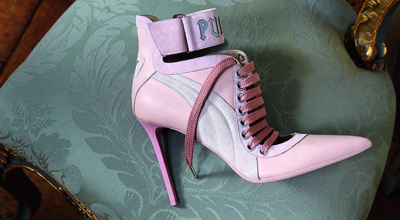 FENTY PUMA by Rihanna Lace Up Heel