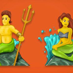 New Emoji 5.0 Update: Mermaid