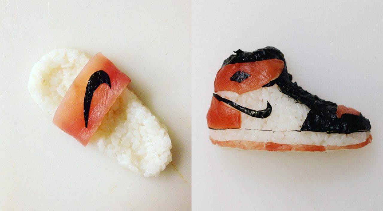 Sushi Footwear by theonigiriart